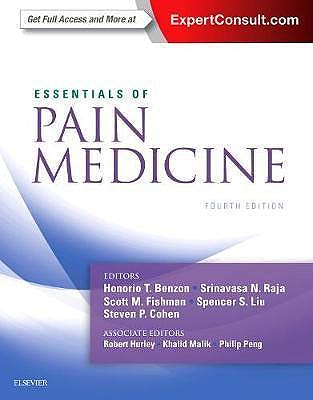 Portada del libro 9780323401968 Essentials of Pain Medicine (Print and Online)