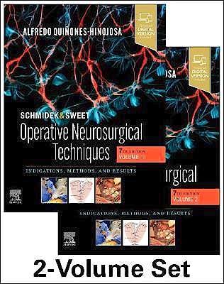 Portada del libro 9780323414791 SCHMIDEK & SWEET. Operative Neurosurgical Techniques. Indications, Methods and Results. 2 Volume Set (Includes Digital Version)