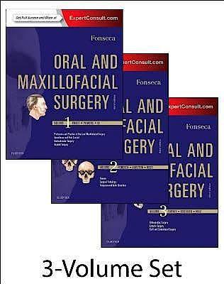 Portada del libro 9780323414999 Oral and Maxillofacial Surgery, 3 Vols. (Online and Print)