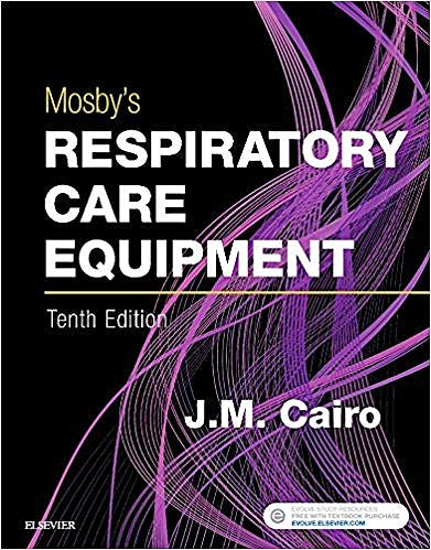Portada del libro 9780323416368 Mosby's Respiratory Care Equipment