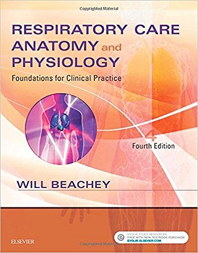 Portada del libro 9780323416375 Respiratory Care Anatomy and Physiology. Foundations for Clinical Practice
