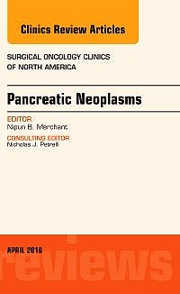 Portada del libro 9780323417754 Pancreatic Neoplasms (An Issue of Surgical Oncology Clinics of North America, Vol. 25-2)
