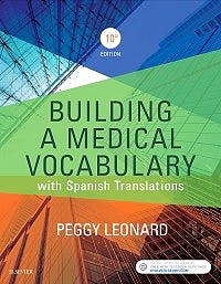 Portada del libro 9780323427944 Building a Medical Vocabulary. With Spanish Translations