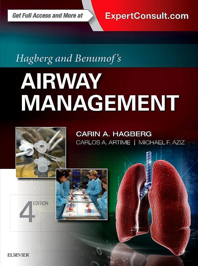 Portada del libro 9780323428811 Hagberg and Benumof's Airway Management