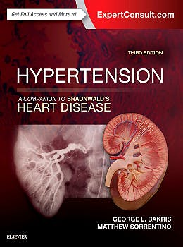 Portada del libro 9780323429733 Hypertension. a Companion to Braunwald's Heart Disease (Online and Print)