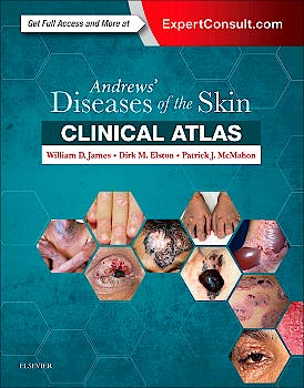 Portada del libro 9780323441964 Andrews' Diseases of the Skin Clinical Atlas (Online and Print)