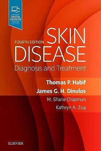 Portada del libro 9780323442220 Skin Disease. Diagnosis and Treatment (Print and Online)