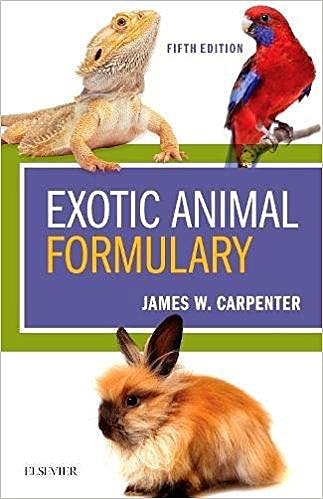 Portada del libro 9780323444507 Exotic Animal Formulary