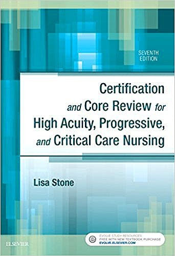 Portada del libro 9780323446402 Certification and Core Review for High Acuity, Progressive, and Critical Care Nursing