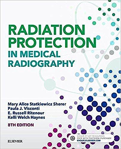 Portada del libro 9780323446662 Radiation Protection in Medical Radiography