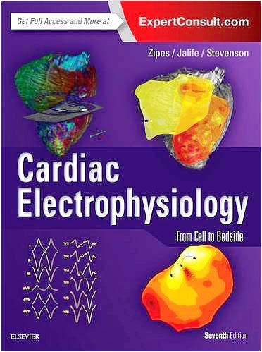 Portada del libro 9780323447331 Cardiac Electrophysiology. From Cell to Bedside (Online and Print)