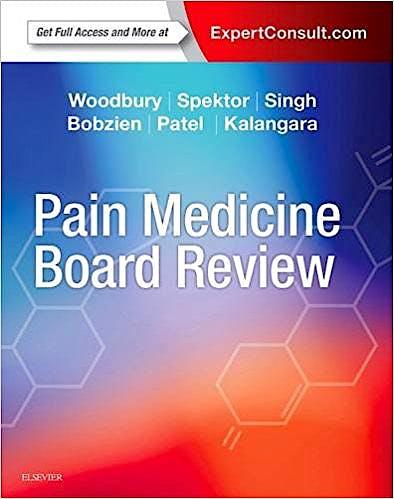 Portada del libro 9780323448116 Pain Medicine Board Review