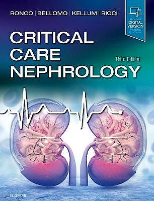 Portada del libro 9780323449427 Critical Care Nephrology (Print and Online)