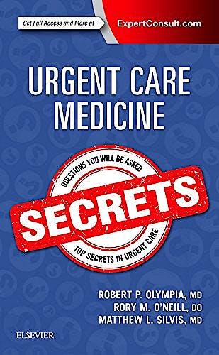 Portada del libro 9780323462150 Urgent Care Medicine Secrets (Print and Online)