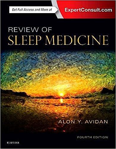 Portada del libro 9780323462167 Review of Sleep Medicine (Print and Online)