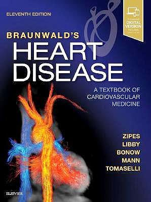 Portada del libro 9780323462990 Braunwald's Heart Disease. A Textbook of Cardiovascular Medicine, Single Volume (Print and Online)