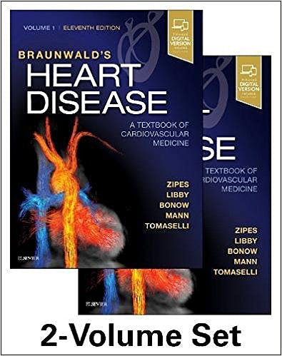 Portada del libro 9780323463423 Braunwald's Heart Disease. A Textbook of Cardiovascular Medicine, 2 Vols. (Print and Online)