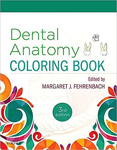 Portada del libro 9780323473453 Dental Anatomy Coloring Book