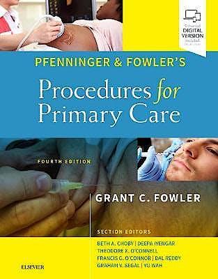 Portada del libro 9780323476331 Pfenninger and Fowler's Procedures for Primary Care