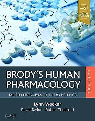 Portada del libro 9780323476522 Brody's Human Pharmacology. Mechanism-Based Therapeutics (Print and Online)
