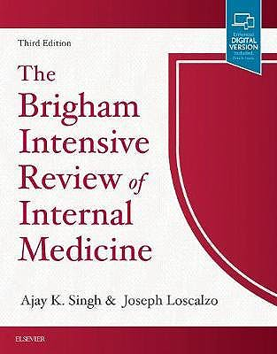 Portada del libro 9780323476706 The Brigham Intensive Review of Internal Medicine (Print and Online)