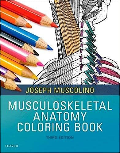 Portada del libro 9780323477314 Musculoskeletal Anatomy Coloring Book