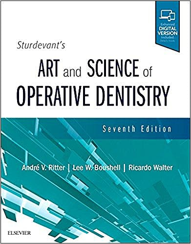Portada del libro 9780323478335 Sturdevant's Art and Science of Operative Dentistry (Print and Online)