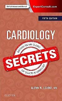 Portada del libro 9780323478700 Cardiology Secrets (Print and Online)
