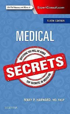 Portada del libro 9780323478724 Medical Secrets (Print + Online)