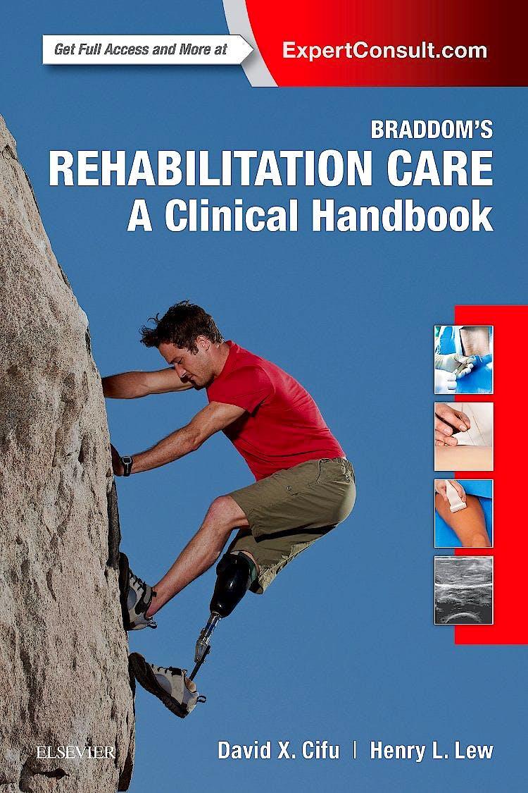 Portada del libro 9780323479042 Braddom's Rehabilitation Care. A Clinical Handbook (Print and Online)