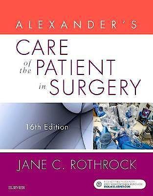Portada del libro 9780323479141 Alexander's Care of the Patient in Surgery