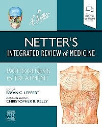 Portada del libro 9780323479387 Netter's Integrated Review of Medicine. Pathogenesis to Treatment