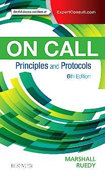 Portada del libro 9780323479769 On Call. Principles and Protocols (Online and Print)