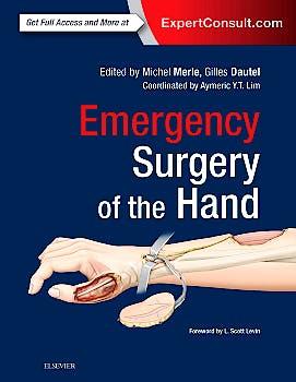 Portada del libro 9780323480109 Emergency Surgery of the Hand