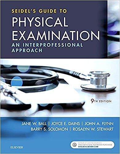 Portada del libro 9780323481953 Seidel's Guide to Physical Examination. An Interprofessional Approach