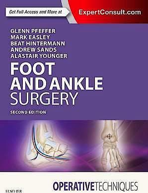Portada del libro 9780323482349 Operative Techniques. Foot and Ankle Surgery