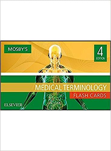 Portada del libro 9780323483124 Mosby's Medical Terminology Flash Cards