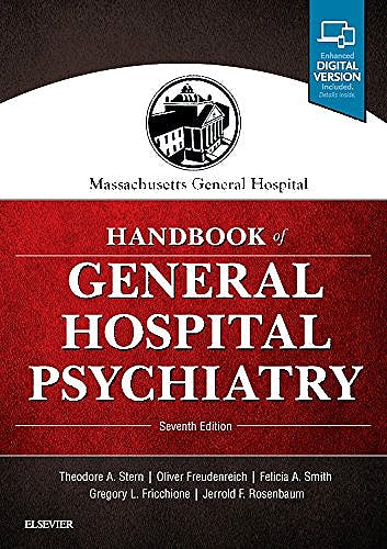 Portada del libro 9780323484114 Massachusetts General Hospital Handbook of General Hospital Psychiatry (Print and Online)