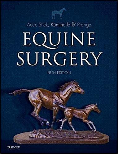 Portada del libro 9780323484206 Equine Surgery
