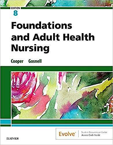 Portada del libro 9780323484374 Foundations and Adult Health Nursing