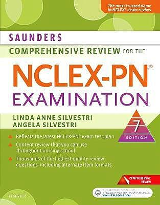 Portada del libro 9780323484886 Saunders Comprehensive Review for the NCLEX-PN Examination