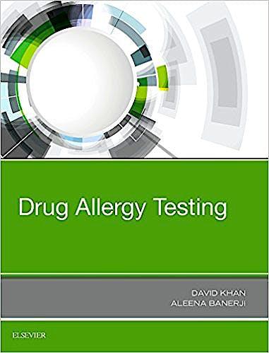 Portada del libro 9780323485517 Drug Allergy Testing