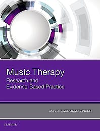 Portada del libro 9780323485609 Music Therapy. Research and Evidence-Based Practice