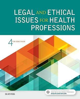Portada del libro 9780323496414 Legal and Ethical Issues for Health Professions