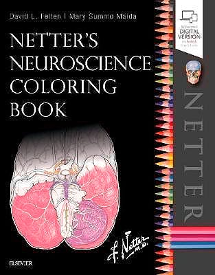 Portada del libro 9780323509596 Netter's Neuroscience Coloring Book (Print and Online)