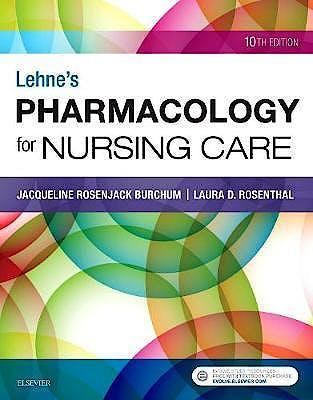 Portada del libro 9780323512275 Lehne's Pharmacology for Nursing Care