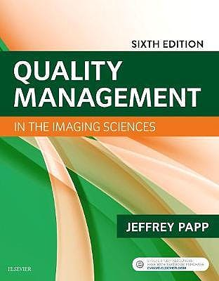 Portada del libro 9780323512374 Quality Management in the Imaging Sciences