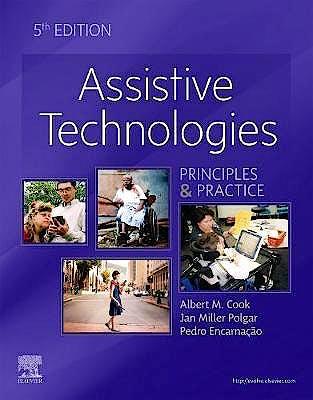 Portada del libro 9780323523387 Assistive Technologies. Principles and Practice