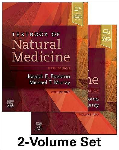 Portada del libro 9780323523424 Textbook of Natural Medicine (2 Volume Set)
