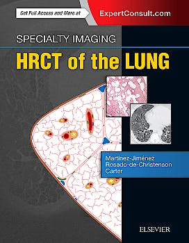 Portada del libro 9780323524773 Specialty Imaging. HRCT of the Lung (Online and Print)